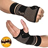 FITTOO Copper Compression Hand and Wrist Sleeves Brace for Men & Women - Pain Relief, Injury Recovery,...