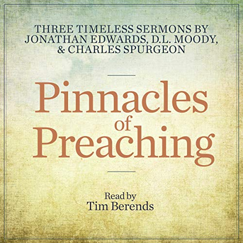 Page de couverture de Pinnacles of Preaching