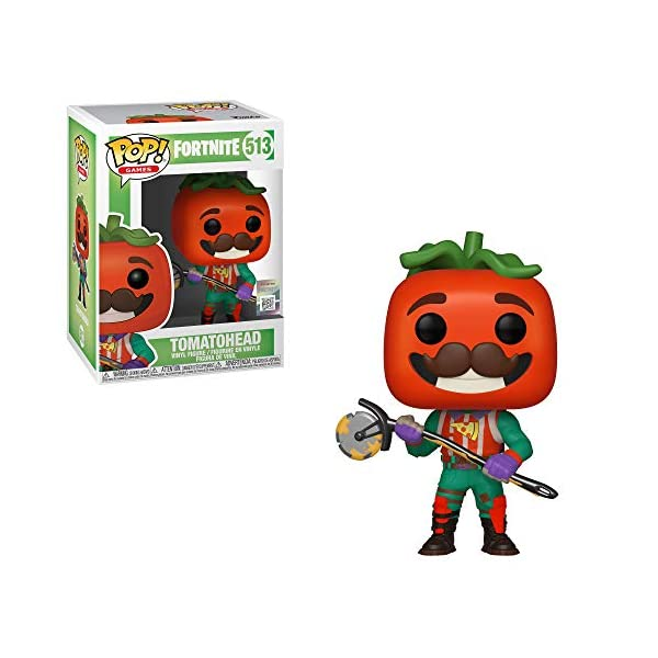 Funko Pop! Vinilo: Games: Fortnite: TomatoHead, Multicolor, Talla Única 2