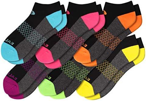 Eallco Womens Ankle Socks 6 Pairs Running Athletic Cushioned Socks product image