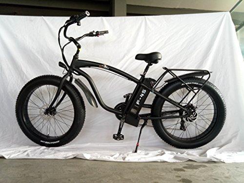 BPM F45 750W 13AH 48V 26' Fat TIRE Electric Bike Bicycle Rack Beach-Cruiser