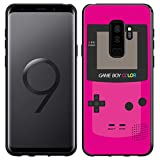 Samsung Galaxy S9+ Plus Case [Magenta GameBoy](Black) PaletteShield Flexible Slim TPU skin phone cover (DOES NOT fit S9)