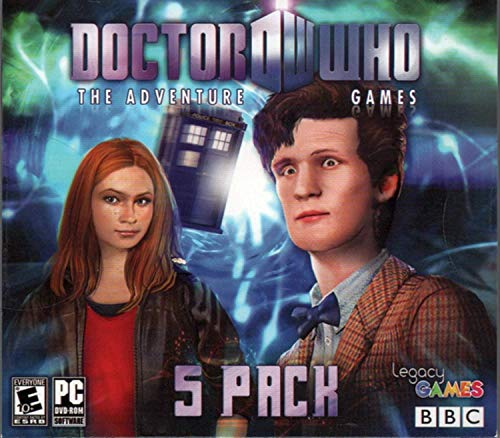 Doctor WHO The Adventure Games Episodes 1 to 5 PC Game DVD-ROM