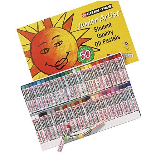 SAKURA XCJP1212-Piece Cray-PAS Chubbies Junior Artist Set di pastelli ad Olio, Colori Assortiti, Altro, Multicoloured, 3.27 x 24.86 x 17.240000000000