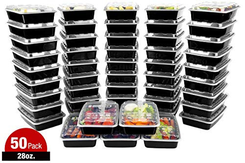 Meal Prep Containers - 28oz 50pk