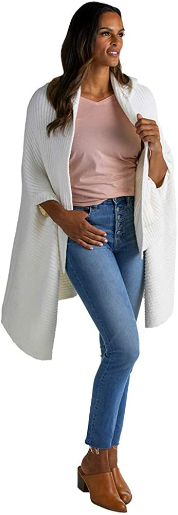 Softies Award Women's Marshmallow Hooded Attention brand Slots Shawl Arm with