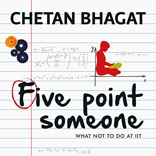Five Point Someone audiobook cover art
