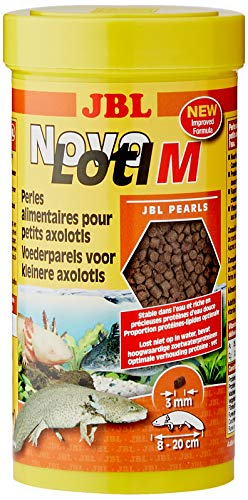 NovoLotl M Complete Food for Small Axolotl