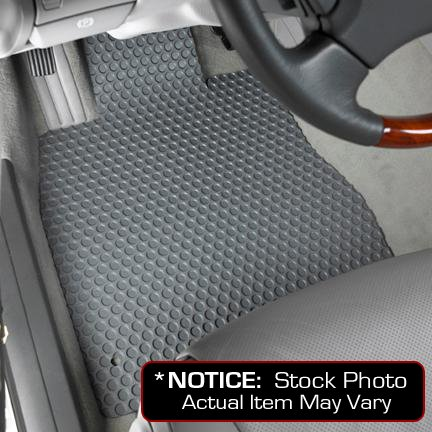Ford F-150 Lloyd Mats Custom-Fit All-Weather Rubbertite Floor Mats 2 Piece Front Set - SVT Raptor|SuperCab - Two Posts In Driver Floor - Grey (2010 10 )