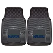 Constructed from 100 percent heavy duty vinyl Universal fit for cars, trucks and SUVs (16.75-inch x 26.75-inch) Raised outer rim and multi-level channels Premium all-weather floor protection Available in all NFL, MLB, NBA and top NCAA teams
