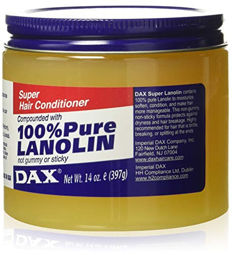 Dax Super Lanolin Hair Conditioner, 14 Ounce