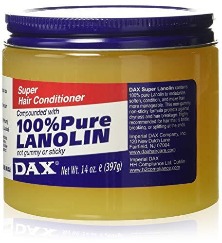 Dax Brillantine Pure Lanoline Après-Shampoing 400 g
