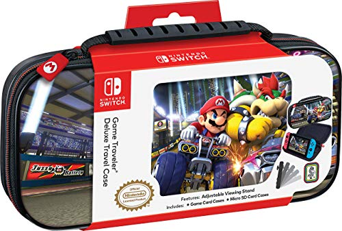 Bigben Custodia Mario Kart 8 Deluxe Bowser Switch - Ufficiale Nintendo [Importación italiana]
