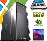 PC Computer FISSO AGM i7-9700 DESKTOP / RAM 32GB DDR4 / Nvidia GT1030 2GB / SSD...