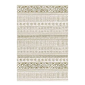 ZJX-F Bohemian Ethnic Style Rug Living Room, Flat Surface Soft Touch Skin-Friendly Bedroom Sofa Nursery Children's Room Bedside Carpet Side Table Carpet