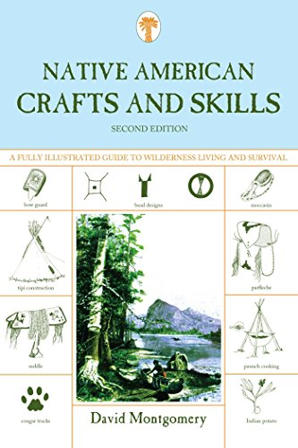 Native American Crafts and Skills: A Fully Illustrated Guide To Wilderness Living And Survival (English Edition)