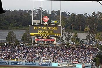 Historic Pictoric Los Angeles CA Photo - Dodger Stadium Los Angeles California - 12in x 8in