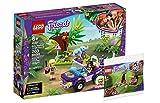 Collectix Lego Friends 41421 - Juego de salvavidas de elefante con transportador + 30412 picnic en el parque (bolsa de plástico)