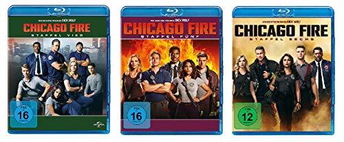 Chicago Fire - Staffel 4-6 [Blu-ray]