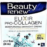 Beauty Renew 50 Exclusive Day & Night Elixir Pro-Collagen Face Moisturizer Cream