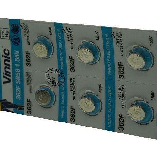 Otech Pack de 10 Piles Vinnic 4898338000832