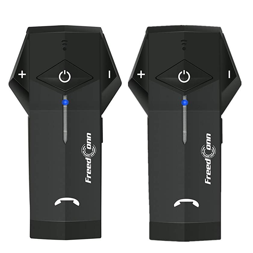 Motorcycle Communication Systems FreedConn COLO Helmet Bluetooth Headset Intercom NFC/FM/ 1000M/ 2-3Riders