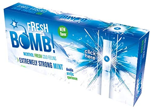 Fresh Bomb Arctic Strong Mint Click Hülsen mit Aromakapsel 5 Boxen (500 Hülsen)