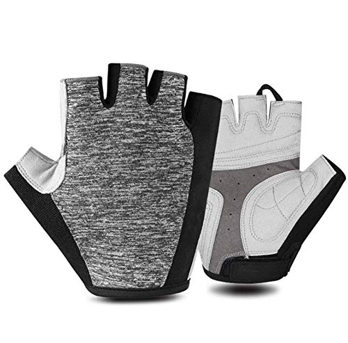 KAUTO Gloves Bike Cycling Gloves for Men Half Finger Cycling Gloves Windproof Men and Women Road Racing Bike Mountain Bike Gloves Bicycle Fishing Running Outdoor Gloves M