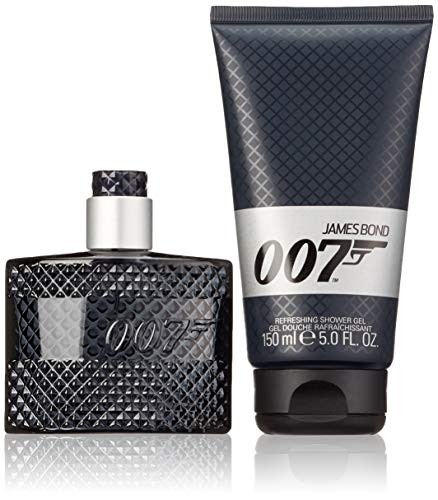 James Bond 007 geurset Signature Eau de Toilette 50 ml + douchegel 150 ml, 1 x 200 ml