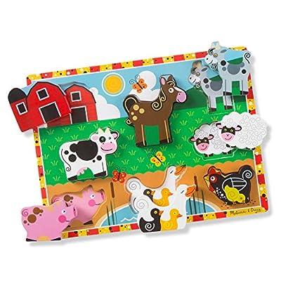 Melissa & Doug Farm Chunky Puzzle from Melissa & Doug