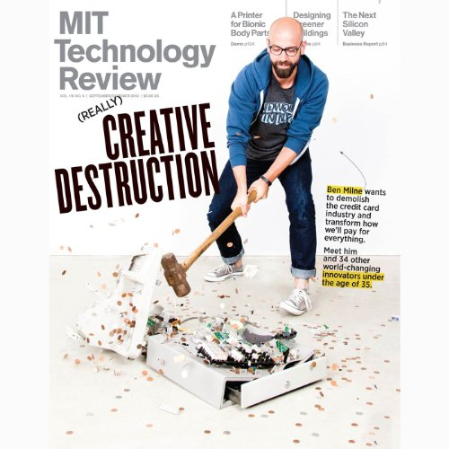 Audible Technology Review, September 2013 cover art