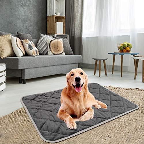 Pepional Hunde Selbstheizende Decke, Warme Haustierdecke 5-lagige Thermische Struktur, Bequeme Haustier Wärmematte Für Sofaböden Haustierbetten 4 Größen