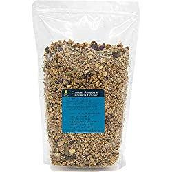 ✅HEALTHY: Perfect at all times of the day, our natural Cashew, Almond and Cinnamon Granola is a healthy luxurious cereal with milk or natural yoghurt. Sprinkle on porridge, use as a moreish topping or a healthy snack to keep you going during your bus...