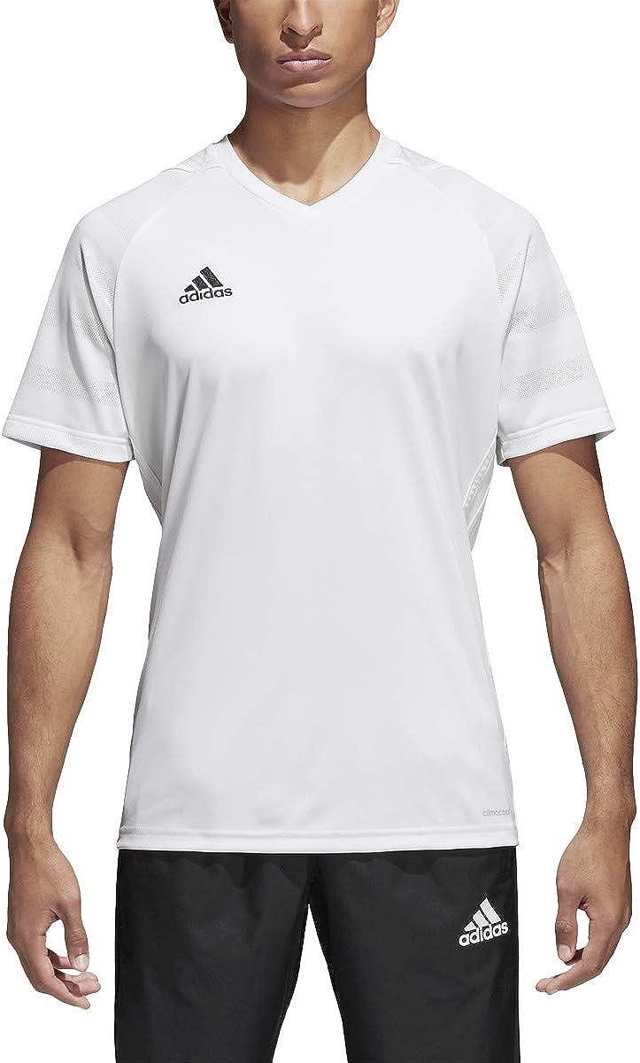 adidas Men's Tiro 17 Jersey (White, Medium)