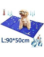 Wimypet Alfombra Refrescante para Perro, Alfombrilla para Animales, Manta de Dormir Fresco para Perros/Gatos, No Tóxico Mascotas y Gatos en Verano