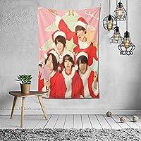 タペストリー 壁掛け Sexy Zone 壁飾り 家 リビングルーム ベッドルーム 部屋 飾り 装飾布 ホームデコレーション 多機能人気 おしゃれ飾り152X102cm
