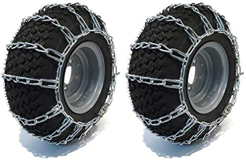 The ROP Shop | Pair of 2 Link Tire Chains 26x12x12 for Snow Blowers,...