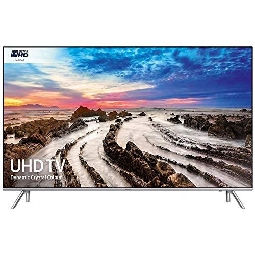 Abbildung Samsung UE65MU7000 4K Smart TV Fernseher Silber EEK: A+