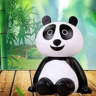 INVODA Humidifier, Cute Panda Shaped Humidifier Air Diffuser Purifier Atomizer with Portable Mini USB Cable for Office,Home Bedrooms, Baby, Kids Rooms