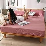 CYYyang colchón Acolchado, antialérgico antiácaros, Sábana Impermeable de un Solo Producto Hotel-9_180cm × 200cm