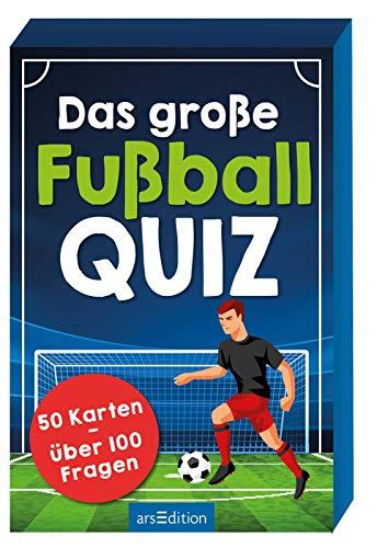 Das große Fußball-Quiz: 50 Karten - über 100 Fragen