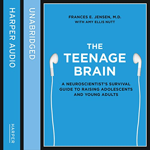 The Teenage Brain audiobook cover art