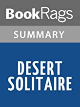 Summary & Study Guide Desert Solitaire by Edward Abbey