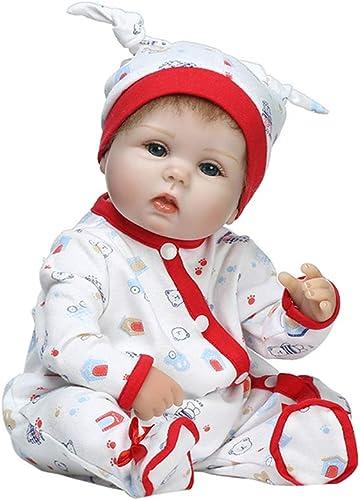 Junlinto, poupées de Simulation en Silicium Souple nées d'un Beau bébé très réaliste, Jouets de la Petite enfance