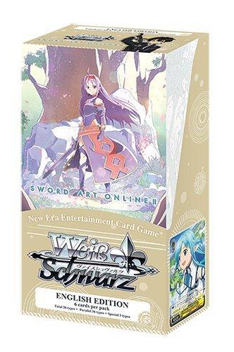 Weiß Schwarz Extra Booster Display: Sword Art Online II Vol. 2 - englisch