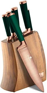 BERLINGER HAUS - Ensemble de couteaux 7 pièces avec support en bois