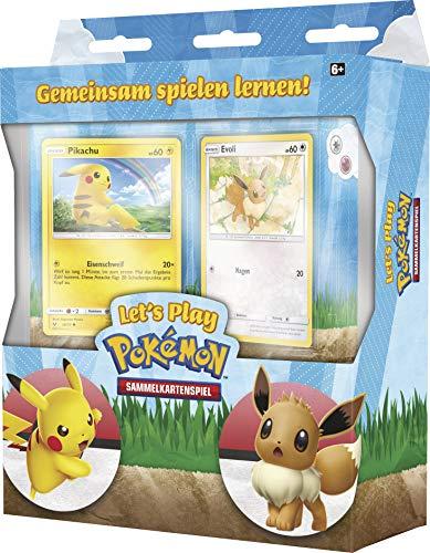 CAGO Let\'s Play Pokemon Einsteigerset - Gemeinsam Spielen Lernen! - Deutsch