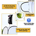 """Leader Accessories Pop Up Shower Tent Dressing Changing Tent Pod Toilet Tent 4' x 4' x 78""""(H) Big Size 5"""