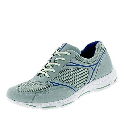 Gabor Comfort Damenschuhe 46.375.22 Damen Schnürhalbschuhe Sneaker (cloud/delphi), EU 38.5