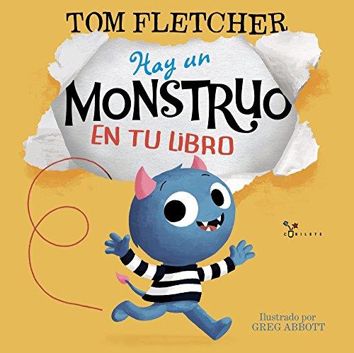 Hay un monstruo en tu libro (Castellano - A PARTIR DE 3 AÑOS - ÁLBUMES - Cubilete)
